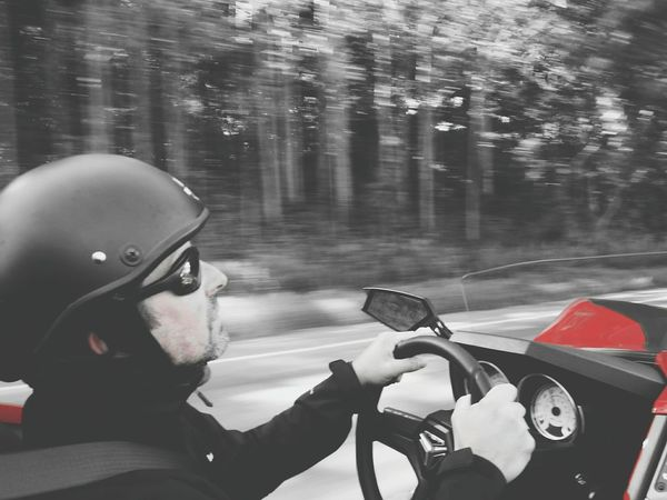 Slingshot Roadtrip Red&black