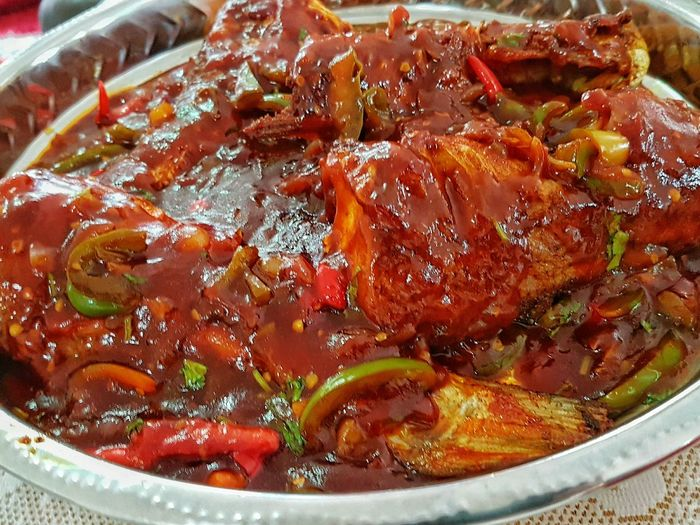 Sweet And Sour Fish Healthy Eating Close-up Foodphotography Foodstagram
