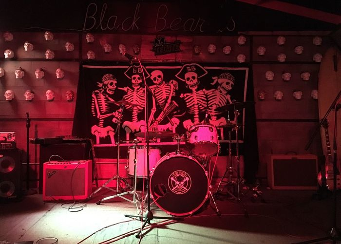 Guadalajara Barbanegra Rock Band Arts Culture And Entertainment Music Red Musical Equipment Event Performance Input Device Musical Instrument No People