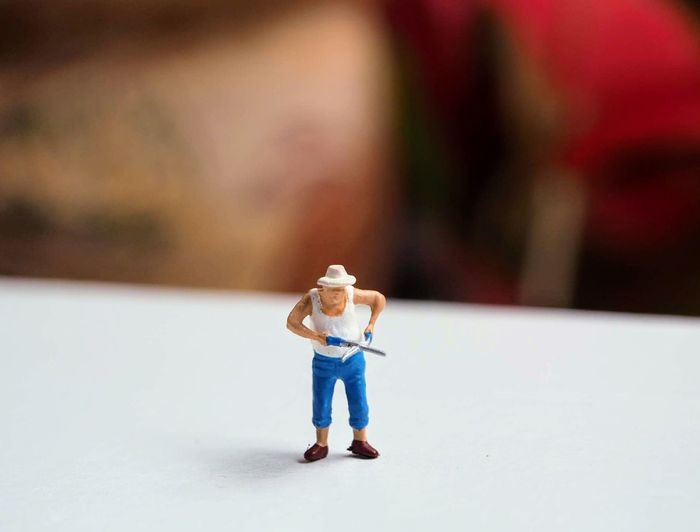 My Figure Figure Close-up Day Focus On Foreground Minimal Model Toy Toy Photography