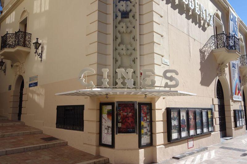 Spanish cinema sign Sign Cinema Cinema Sign