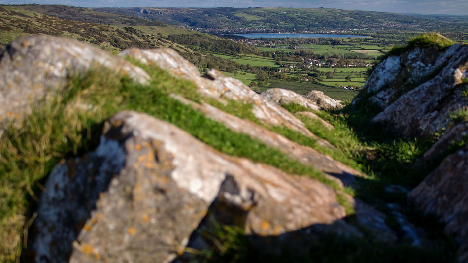 Landscape Scenics Nature No People Grass Outdoors Tranquility Day Water Beauty In Nature Sea Cliff Sky Crook Peak Somerset