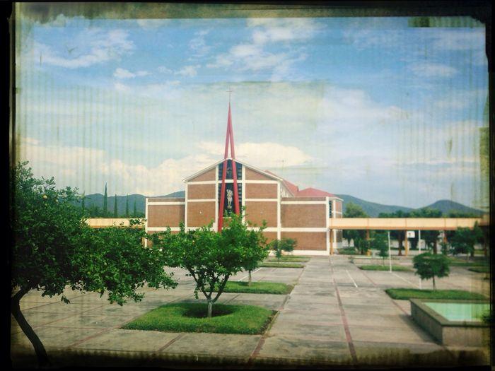 Capilla Central del Seminario... Seminary Seminario Catholic Chapel