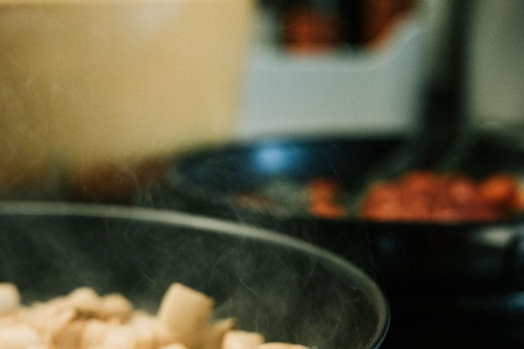 Close-up of food at home