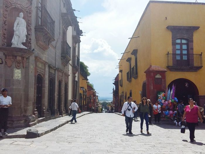 Sanmigueldeallende Mexico Pueblomagico Architecture Church Calle