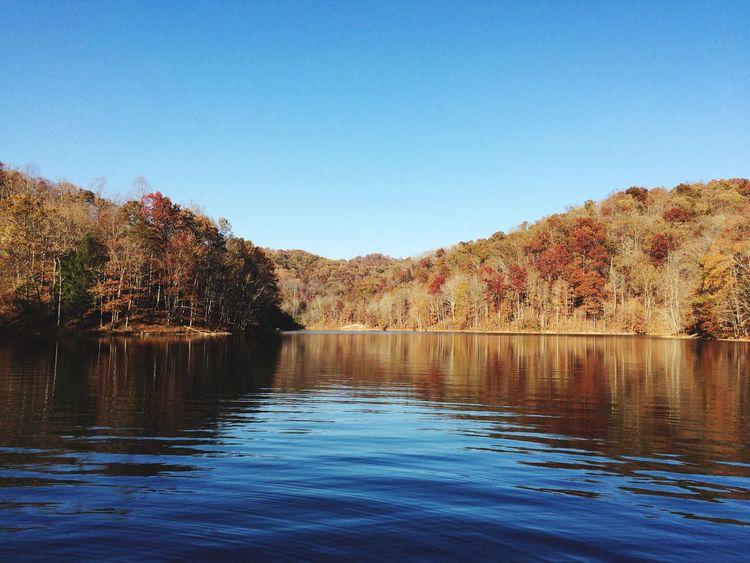 Lake View Water Nature Lake Reflection Kentucky  Clear Sky