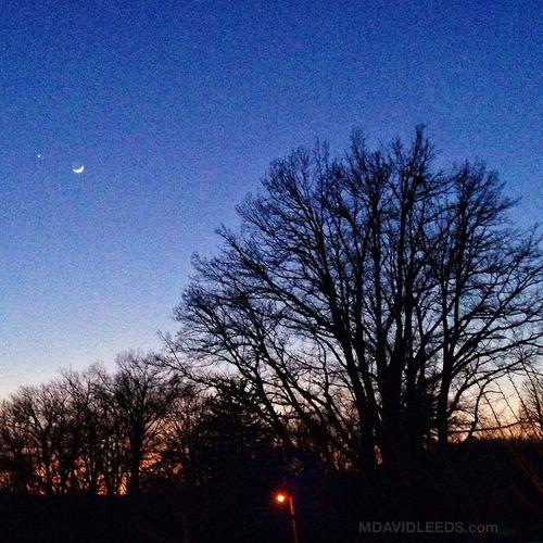Venus, Mars and The Moon wax poetic over the Greystone Park, NJ Moon Greystone Psychiatric Hospital Mdavidleeds Photos