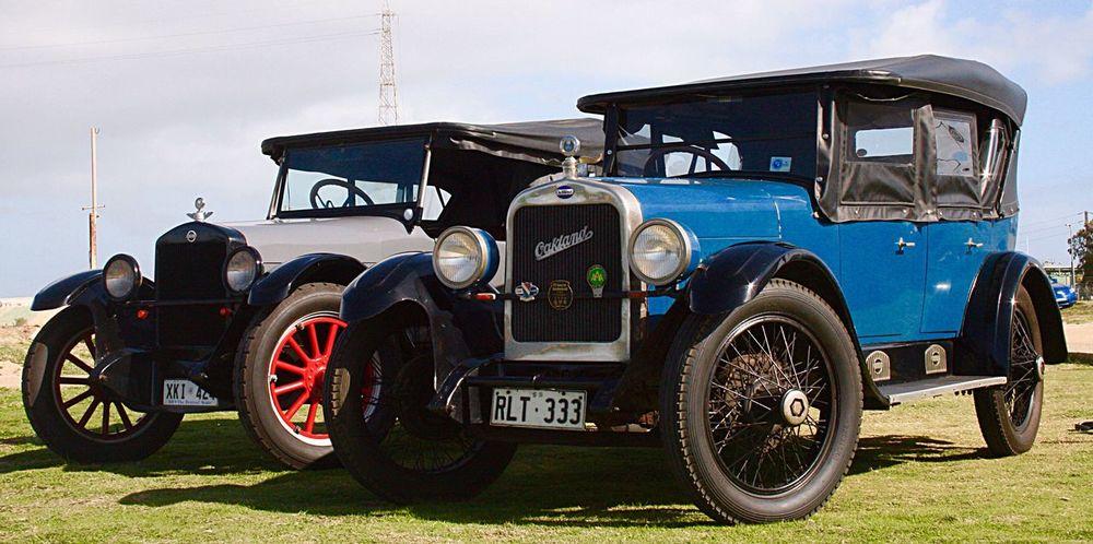 Vintage cars Vintage Cars Two Cars