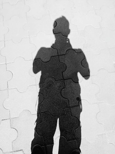 Shadow Focus On Shadow Standing One Person Silhouette Textured  Pattern Outdoors One Woman Only Adult People Day Only Women Adults Only