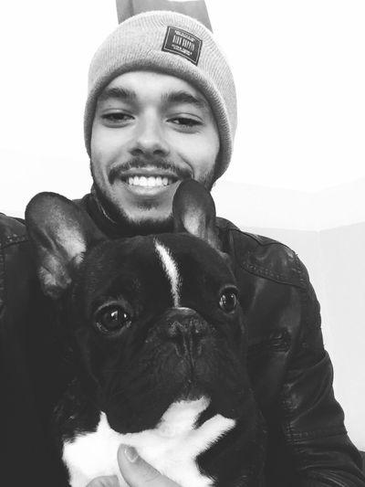 Best friend ❤ Dog Bulldogfrances First Eyeem Photo
