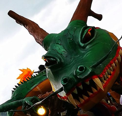 Sculpture Carnival Crowds And Details Carnival Spirit EyeEmNewHere dragon italy