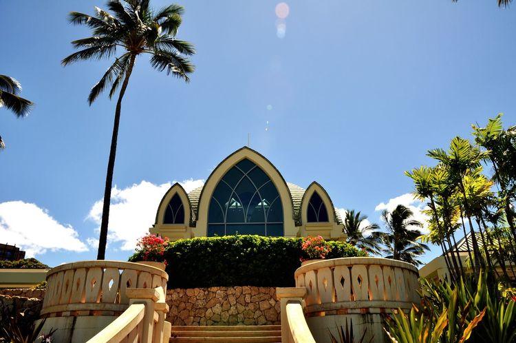Ko Olina Aulani Resort Chapel Hawaii Oahu Blue Sky Island Life Life Is A Beach Oceanlife