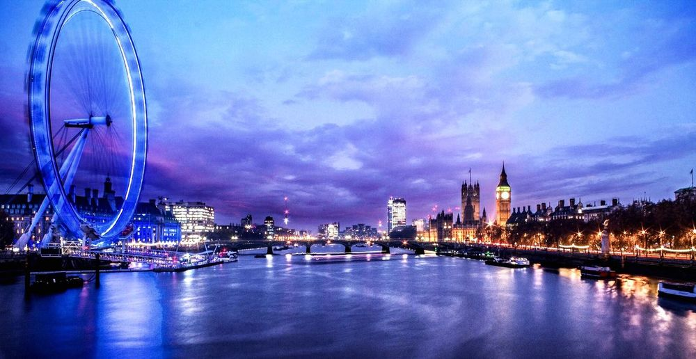 EyeEm Best Shots - Long Exposure Long Exposure River Thames London Eye London LONDON❤ Photoshop Photo Manipulation Digital Darkroom EyeEm Best Edits EyeEm EyeEm Gallery EyeEmBestEdits Colors Colorful Color Colours