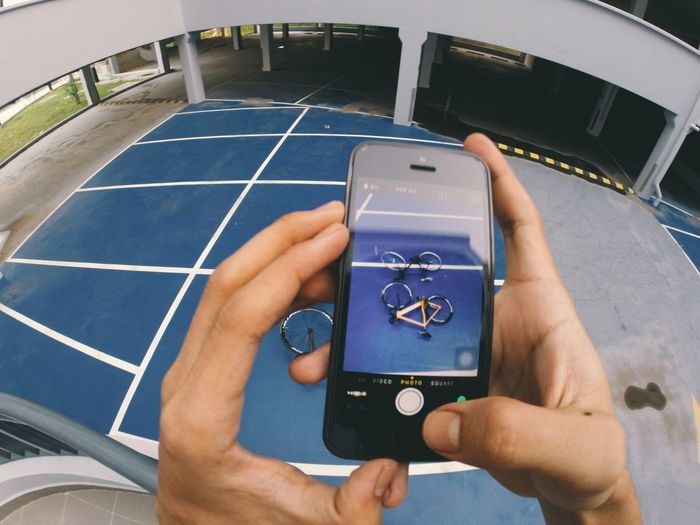 IPhone 5S Fixed Gear GoPro Hero3+ Vcsocam