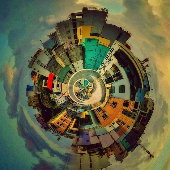 Tinyplanet Photosphere Concretejungle Malecity instagrammv maldives