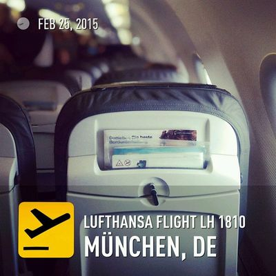 And boarding. Ready to go. Barcelona here I come. Freqs Mwc15 Flyingbcn Lufthansa