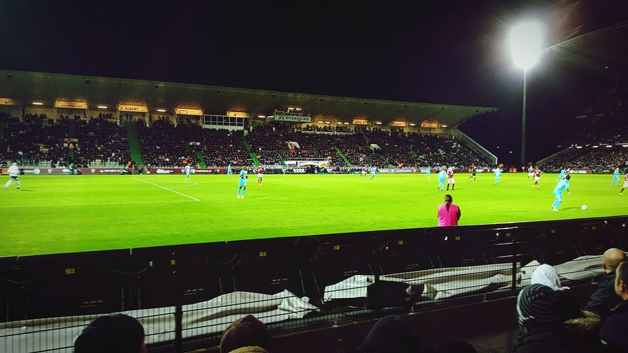 First Eyeem Photo Football Fever Ligue1 Fcmetz Olympique De Marseille 1:0 Stade Saint Symphorien Home Win Love Fc Metz Free Kick Goal