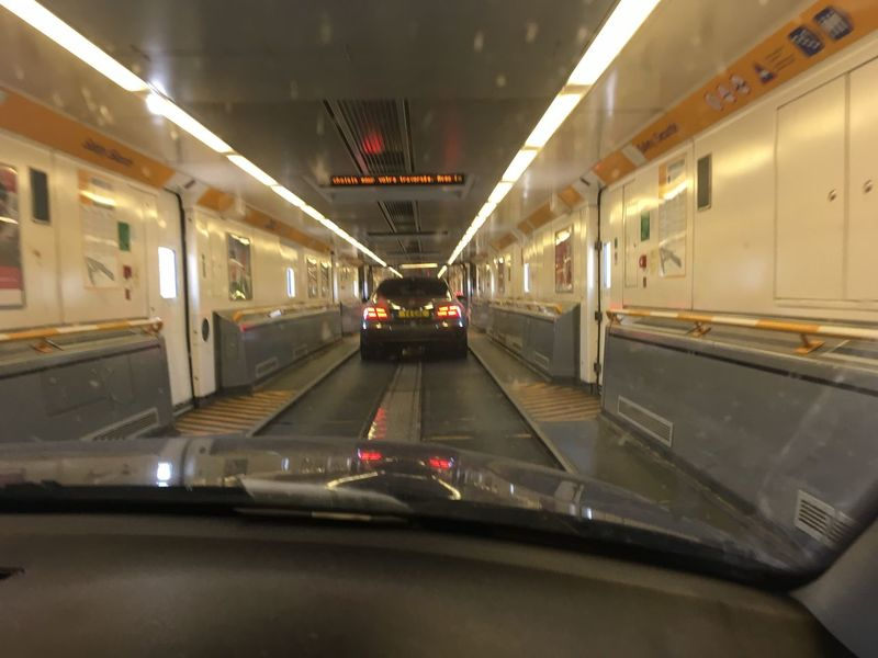 Going on the Eurotunnel Transportation Mode Of Transport Travel Public Transportation Illuminated Indoors  Motion Travel Destinations Journey Eurotunnel Modern