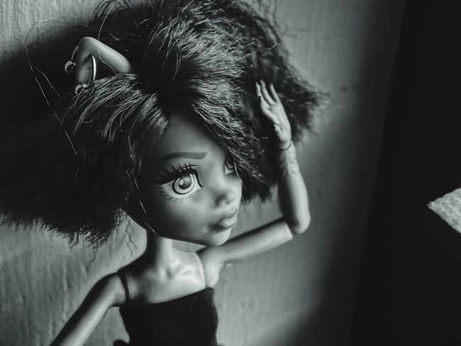 EyeEm Selects Black & White Portrait Monsterhighphotography Barbie Monsterhighdolls