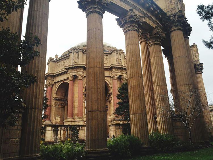 Nice walk... The Palace Of Fine Arts, SF
