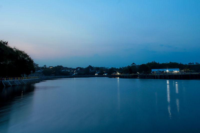 Yogyakarta Blue Lake Landscape Landscape_photography Slowspeed Slowspeedphotography Tambakboyo