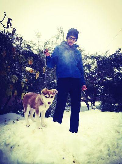 Dog =Bella Nice Day S Snow Bella ❤ That's Me