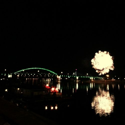 Savamala Giantpopcorn Firework The River Sava
