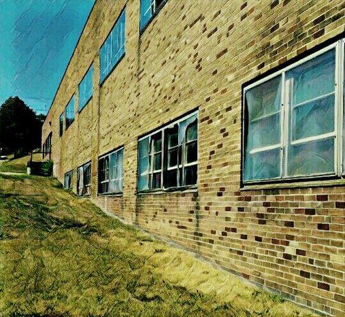 Edited My Way Brick Building Brick Work Brickporn Urban Landscape Abandoned & Derelict EyeEm Best Edits Sidewalk Photograhy Walking Around The City
