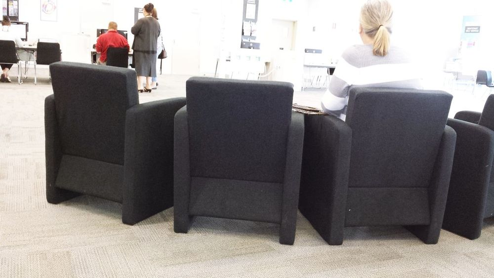 Seating area Australia Chairs Commercial Indoors  Inside Office Seats Upholstered Waiting Room