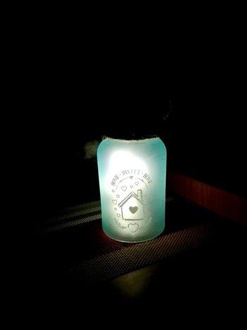 Black Background Illuminated Electricity  Studio Shot Single Object Close-up