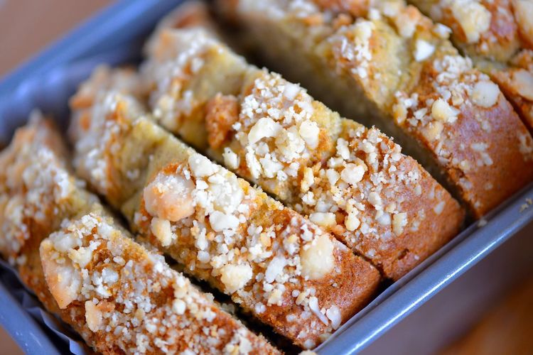 Food Live To Eat Time For Breakfast  Cake Bread Dessert Sweets