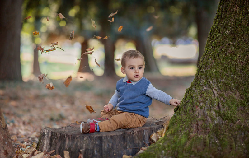 Autumn Children Children's Portraits Baby Babyhood Child Childhood Children Only Children Photography Nature Portrait