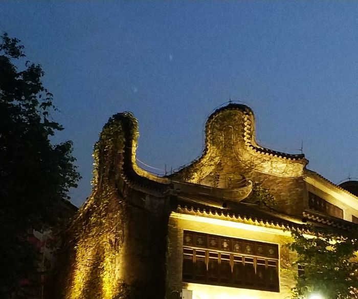 City Illuminated Astronomy History Sky Architecture Building Exterior Built Structure