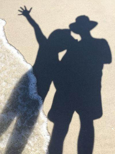 Vanderbilt Beach Naples, Florida by iPhone Beach Naples Naplesfl Naplesflorida Shadow Shadows Thetourist IPS2016People