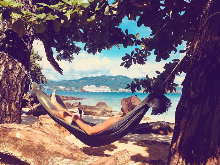 Маугли Water Day Nature Sea Beauty In Nature Nautical Vessel Outdoors Sky Beach Tree Mountain One Person