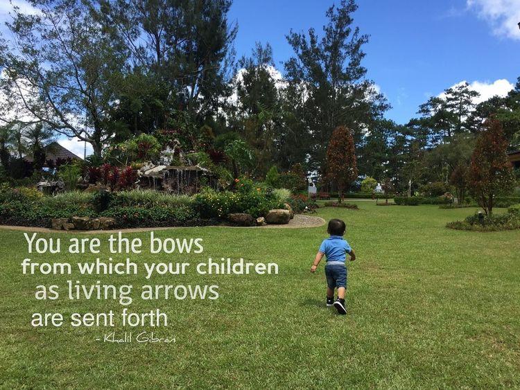favorite quote Khalil Gibran child future keep walking baby photography Baby day out Camp John Hay Baguio City waki dans Baby Magazine Little Boy Dream Parental Love The Week On EyeEm EyeEmNewHere
