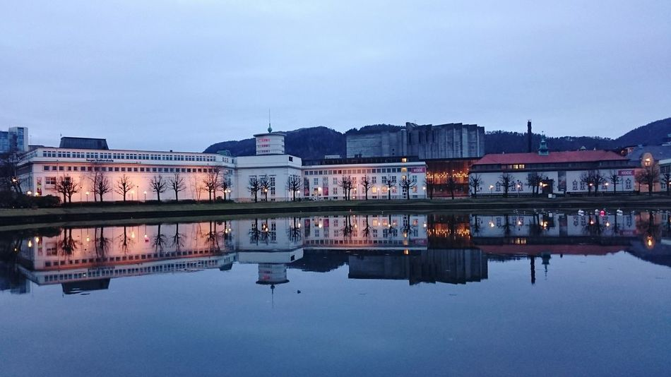 Reflections Sony Z3 Xperia Sonyz3 Mobilephotography Mobilephoto No People Water Outdoors City Reflection Dusk Bergen,Norway Bergen
