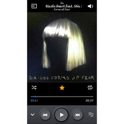 I could listen to this song all day. 📱🎧🎤🎵 ElasticHeart Sia 1000formsoffear Whponrepeat shallwedance sing nofilter