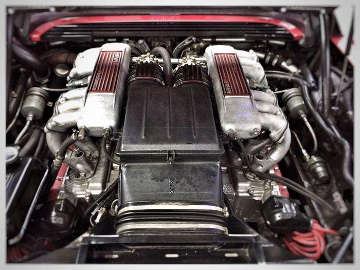 Ferrari Oldtimer Engine Engineering Motor Ferrari Testarossa Car Technology Oldtimer Love Racing Editing HDR Hdr_Collection