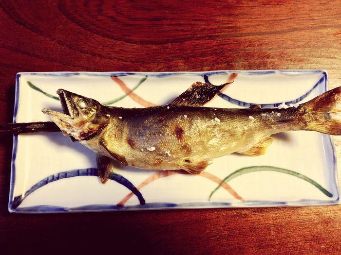 鮎 川魚 栃木県 日光市 Japan