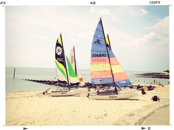 Hobbycat Summer Boat Color