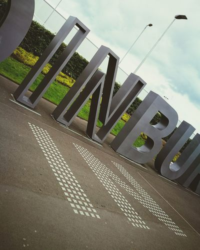 Cloud - Sky Architecture No People Day Outdoors Building Exterior Modern HuaweiP9 Edinburgh Airport Travelingtheworld  Traveling