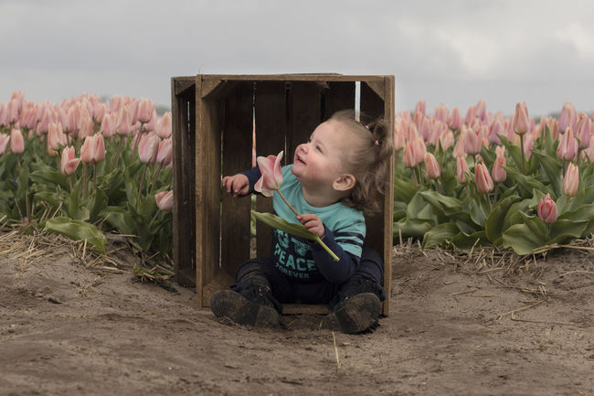 Beauty In Nature Child Children Photography Day Field Flower Freshness Kid Kids Nature Outdoor Photography Outdoors Pic Picoftheday Pictureoftheday Pink Pink Color Pink Flower Portrait Tulip Tulipfield Tulipfields Tulips Tulips Flowers Tulips🌷