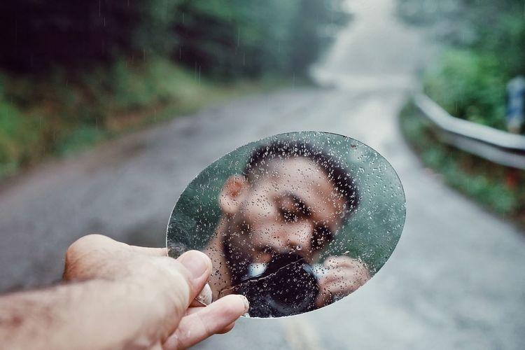 Milad Hajizade Self Portrait Iran Miladhajizade Selfie ✌ Human Hand Water Holding Spraying Men Close-up Bubble Wand Drop Blowing Rainy Season Wet Rainfall Rain Water Drop