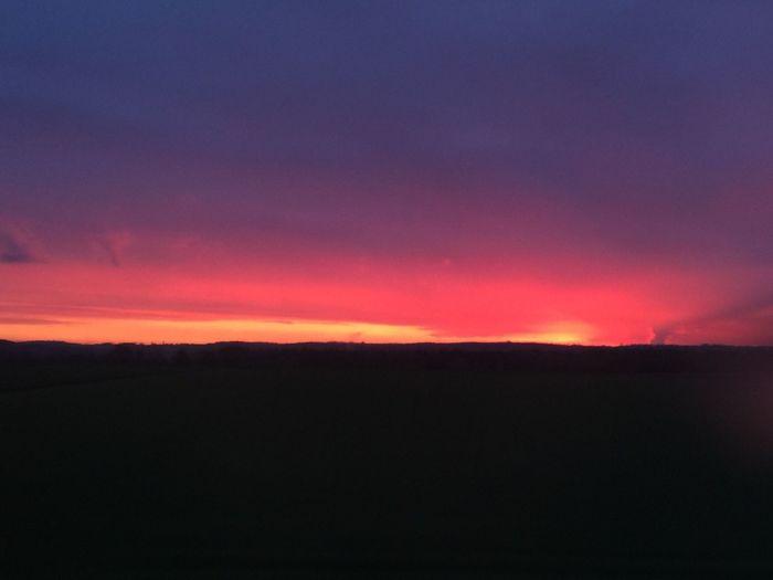 Outdoors Dramatic Kempten (Allgäu) Allgäu Peaceful No Filter Nature Silhouette Beauty In Nature Landscape Dark Sky Sunrise