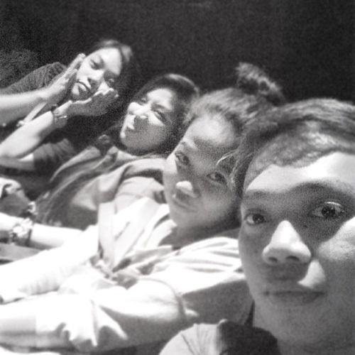 We ended the day with a movie. ????? Callcentergirl