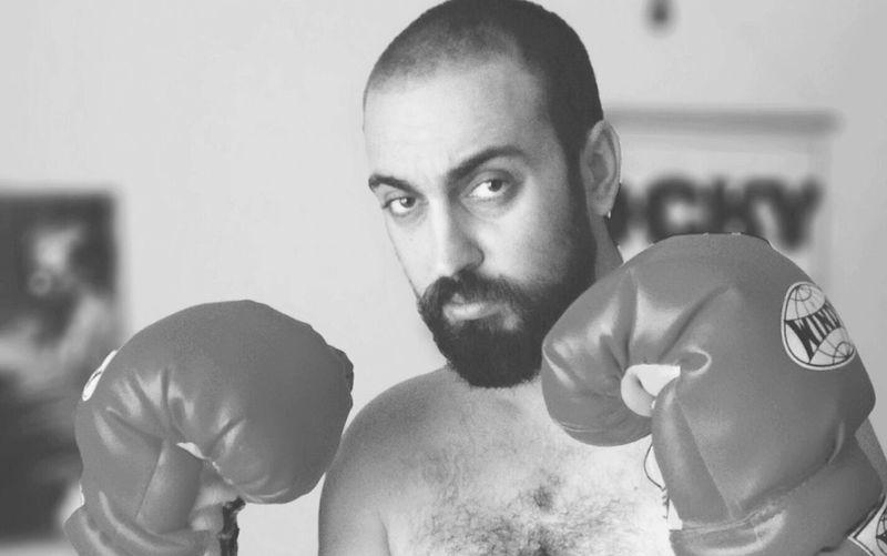 Boxing Gloves Rocky Balboa Boks Training Life Power Ring