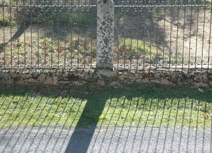 Bars Green Grass Light And Shadow Stone Wall Tree Vall