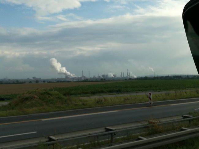 Salzgitter Steelfactory Industry Outdoors Architecture No People Sky Cloud