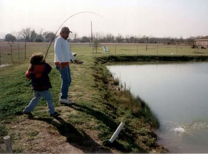 Father Daughter And Dad ❤ Lake Togetherness Outdoors Childhood Fishing Pole Fishing Time Funtimes